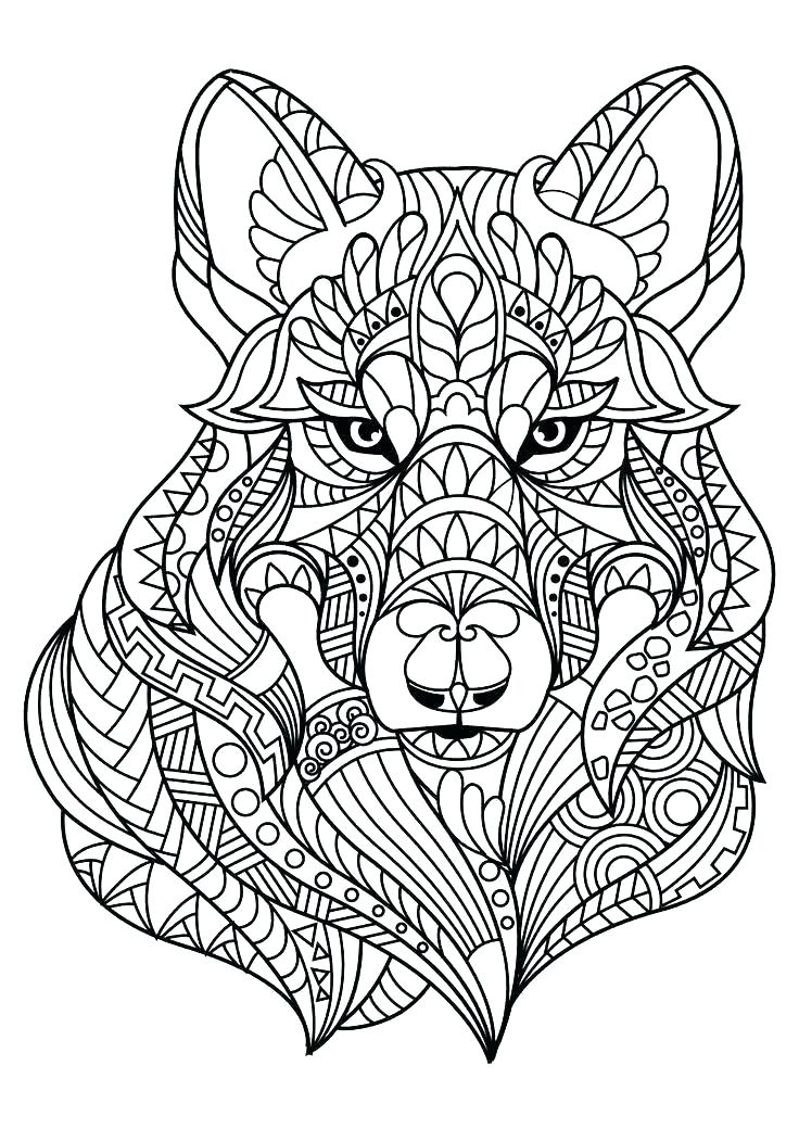Adult Coloring Pages Wolves : adult, coloring, pages, wolves, Coloring, Pages, Adults, Www.robertdee.org