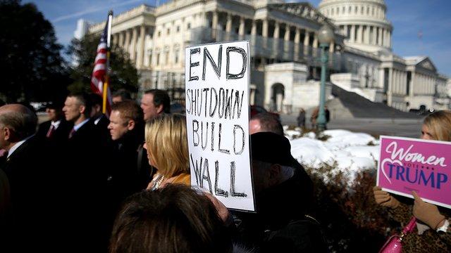 shutdown wall