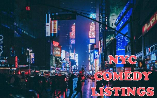 nyc comedy blog listings