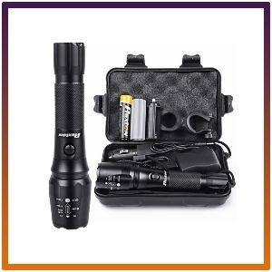 Rechargeable Flashlight Tactical Ultra-High Lumens Emergency Survival Led Light