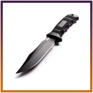 Sog Fixed Blade Knives, Sheath Bowie Blade, Tactical Knife.