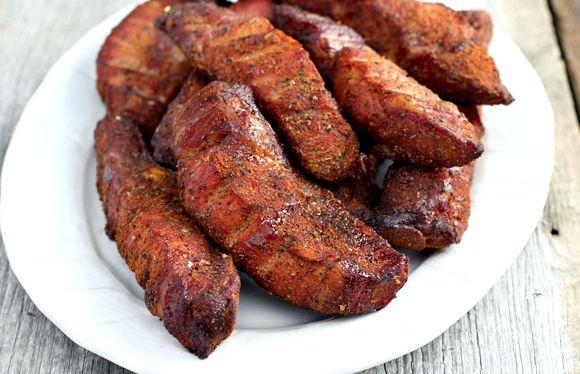 Oven Barbecued Boneless Pork Ribs Food Network