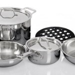 Duxtop SSC-9PC Whole-Clad Tri-Ply Induction Cookware
