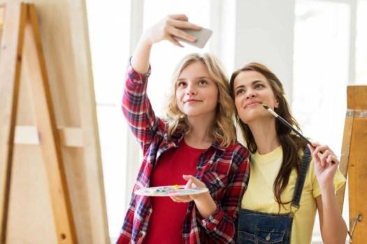 Selfies and google