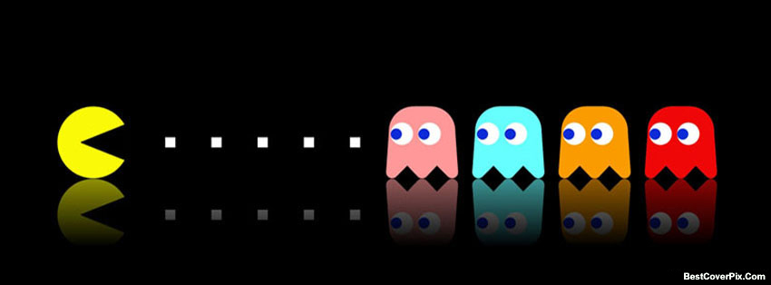 Pac Man Facebook Cover
