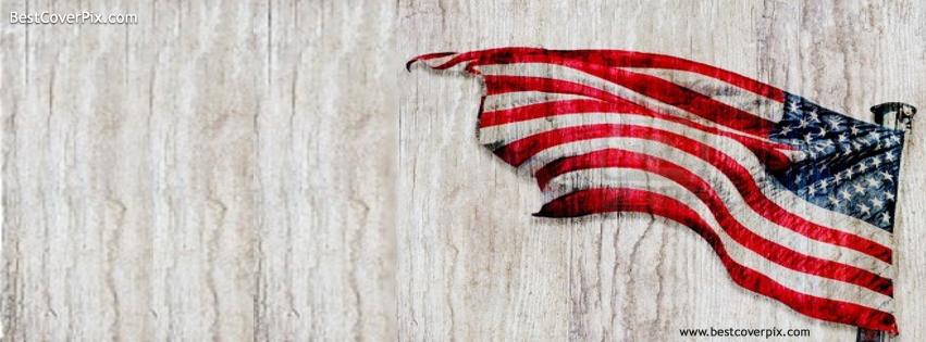 9d514bd3cc49 American Flag Texture Facebook Covers