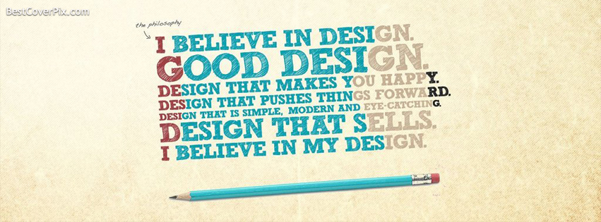 Design Quote Facebook Profile Cover Photo