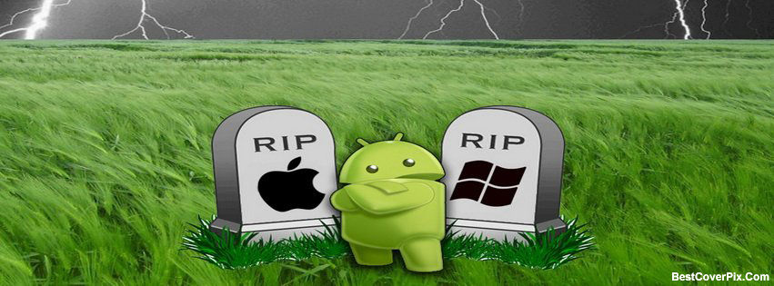 Android overcome Windows and Iphone Cover