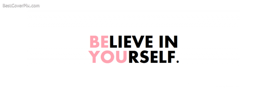 beleive in your self cover