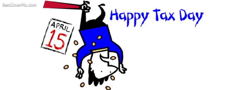 happy tax time fb cover
