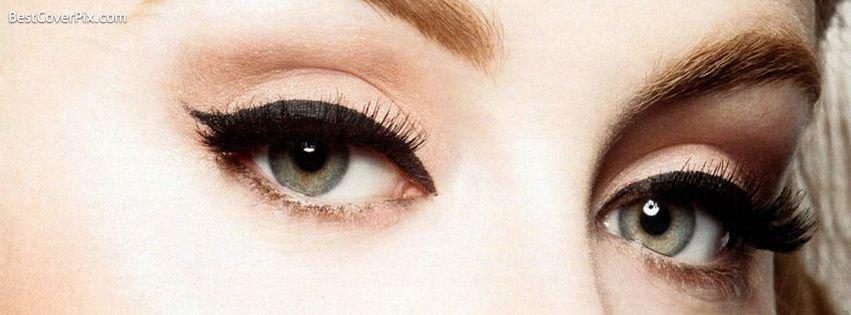 Eyes of Girl on Facebook Timeline Cover Photo