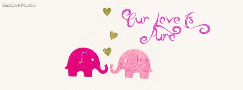 Pure Love Facebook cover