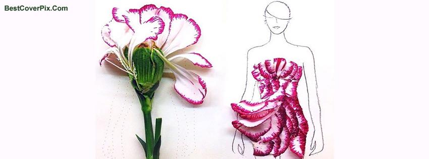 Pink dress fashion for Girls summer Facebook photo