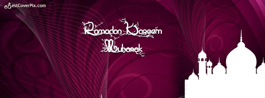 ramzan kareem fb cover photo 2014
