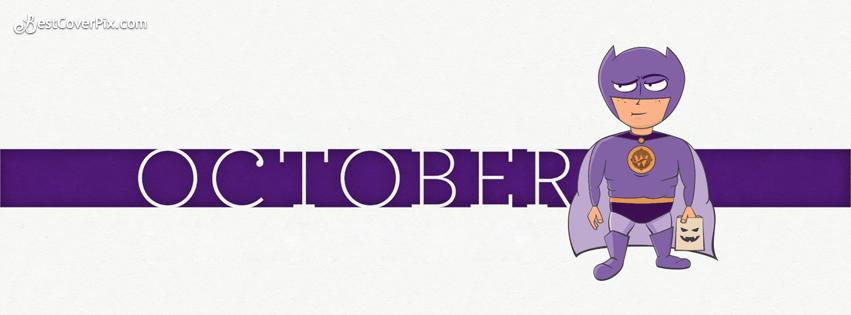 happy october batman fb cover