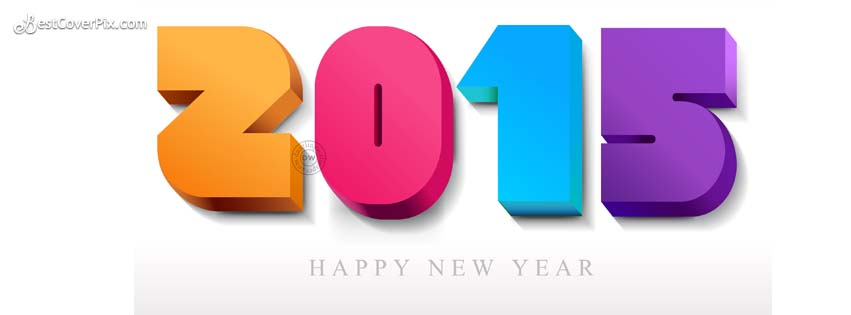 HD wallpaper and cover for Happy New Year 2015