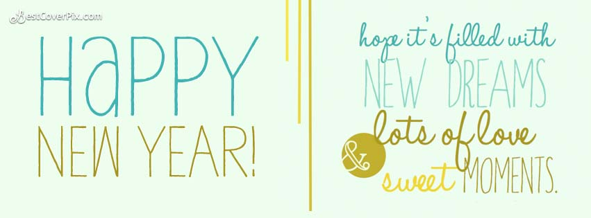 happy New year facebook covers 2015