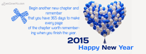Happy New year greeting card 2015