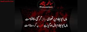 Black Day Peshawar terrorist attack FB cover