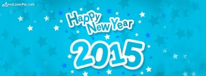 sky says happy new year 2015 fb cover photo
