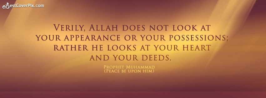 Islamic Quotes Facebook Cover Photo