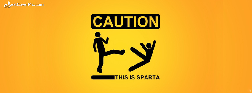 caution this is sparta fb cover
