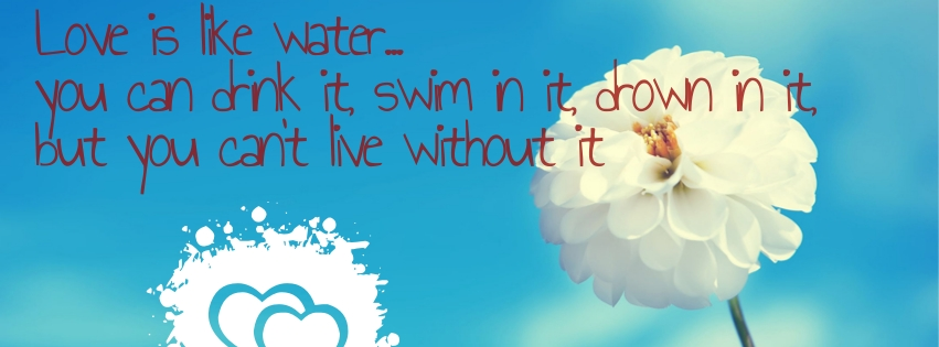 Cute Love Quotes Facebook Covers