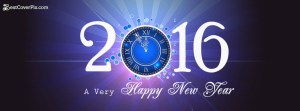 Happy new year 2016 Facebook covers