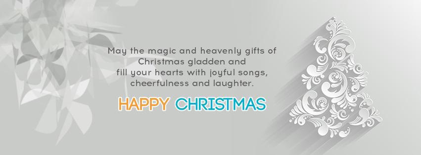 Happy Chrismas Quotes Facebook Cover Photos