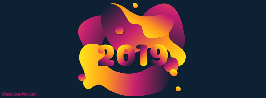 Facebook Cover New Year 2019 download