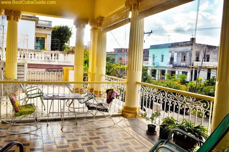 casa particular pastorita vedado havana balcony 1  Best