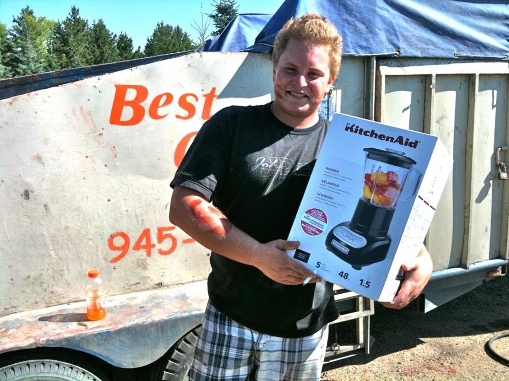 Shawn has earnd level 1 mixmaster award