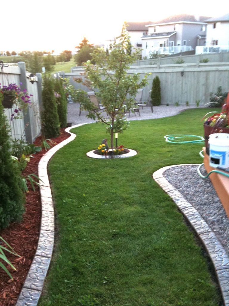 attractive curb design