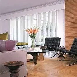 apartment model vertical blinds white color reduced 20 percent