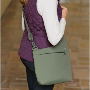 Available in this Cypress green and black.