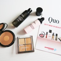 QUO COSMETICS NEW IN BEAUTY 2017