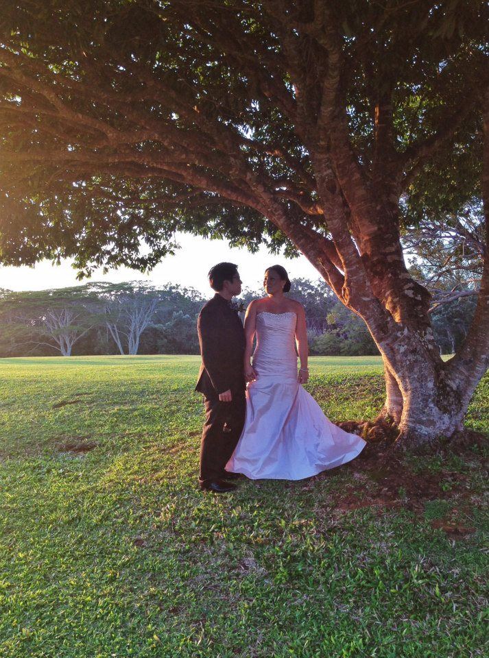 Kyle  Layna A Sunset Ranch Hawaii Wedding  best day ever