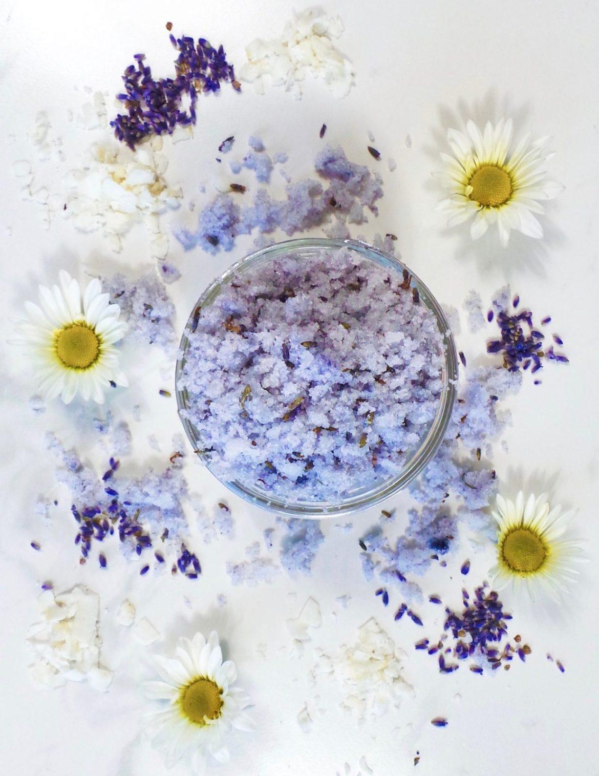 Lavender Coconut Sugar Scrub