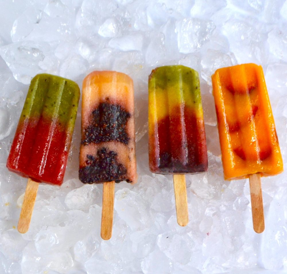 Stay Cool with DIY Fruit Popsicles