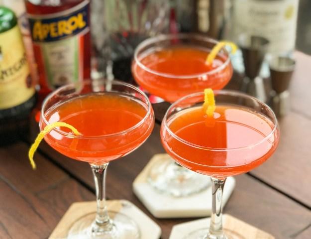 paper plane cocktail