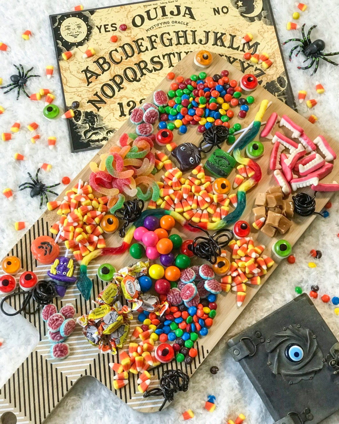 Host a Girls Night In, Halloween Edition: Featuring Ouija and an Epic Candy Board