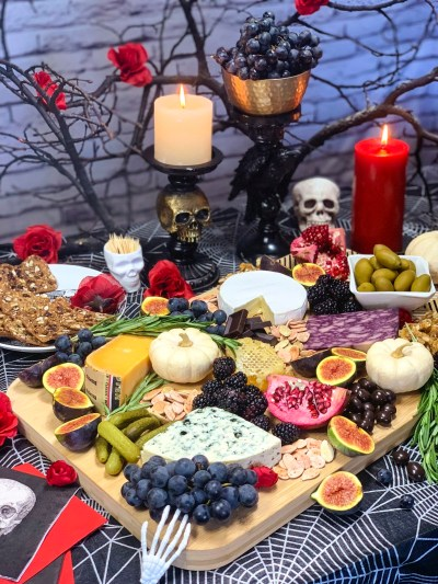 Make a Spooky Halloween Cheese Board