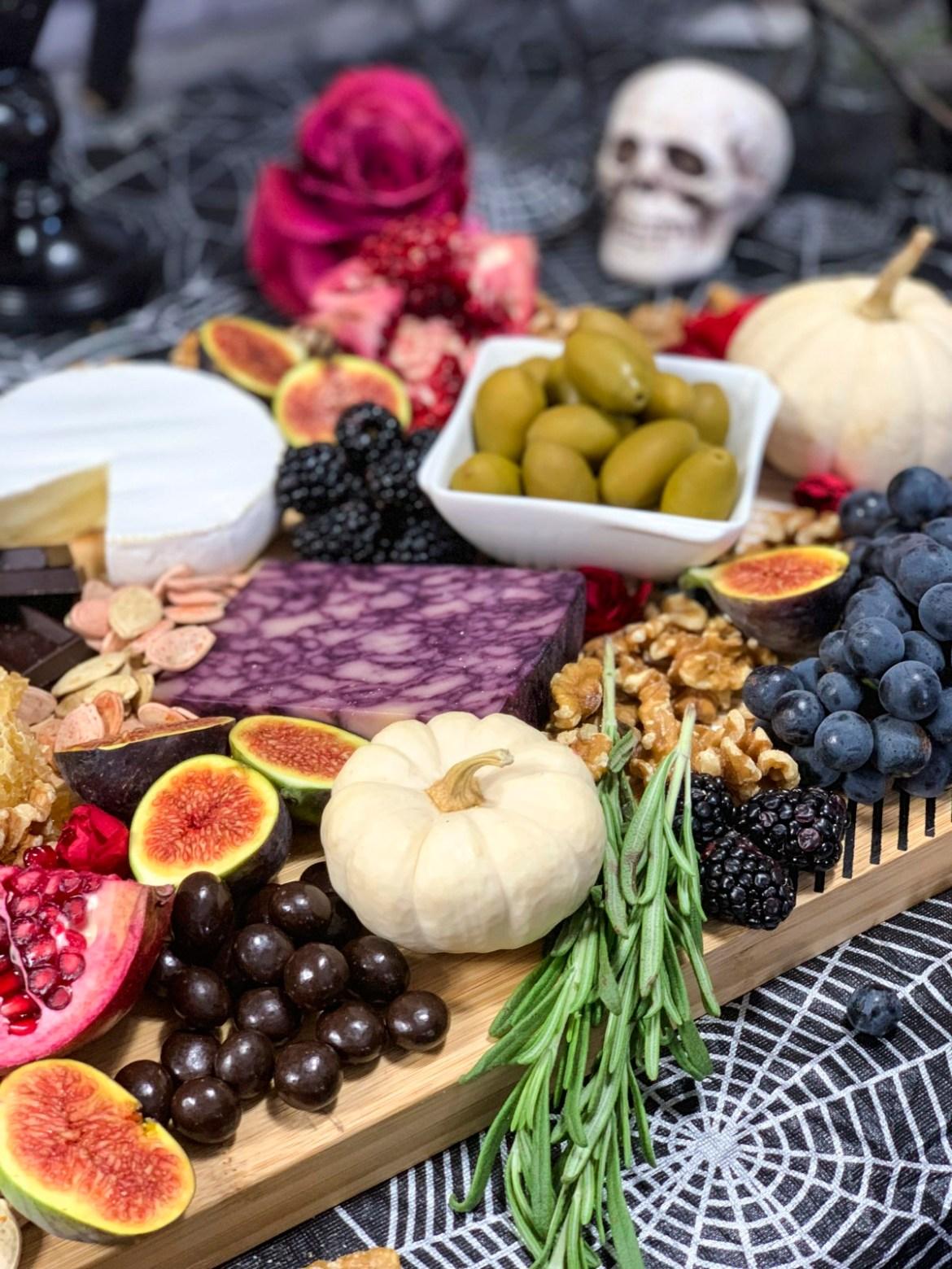 Make a Spooky Halloween Cheese Board