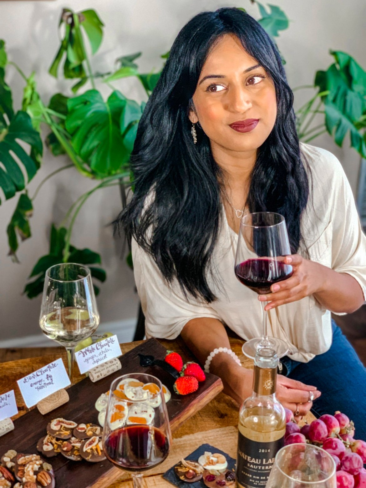 Host a Wine and Chocolate Tasting