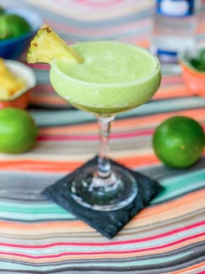 Pineapple Mint Margarita