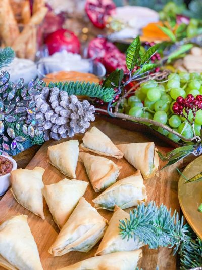 Christmas Grazing Table