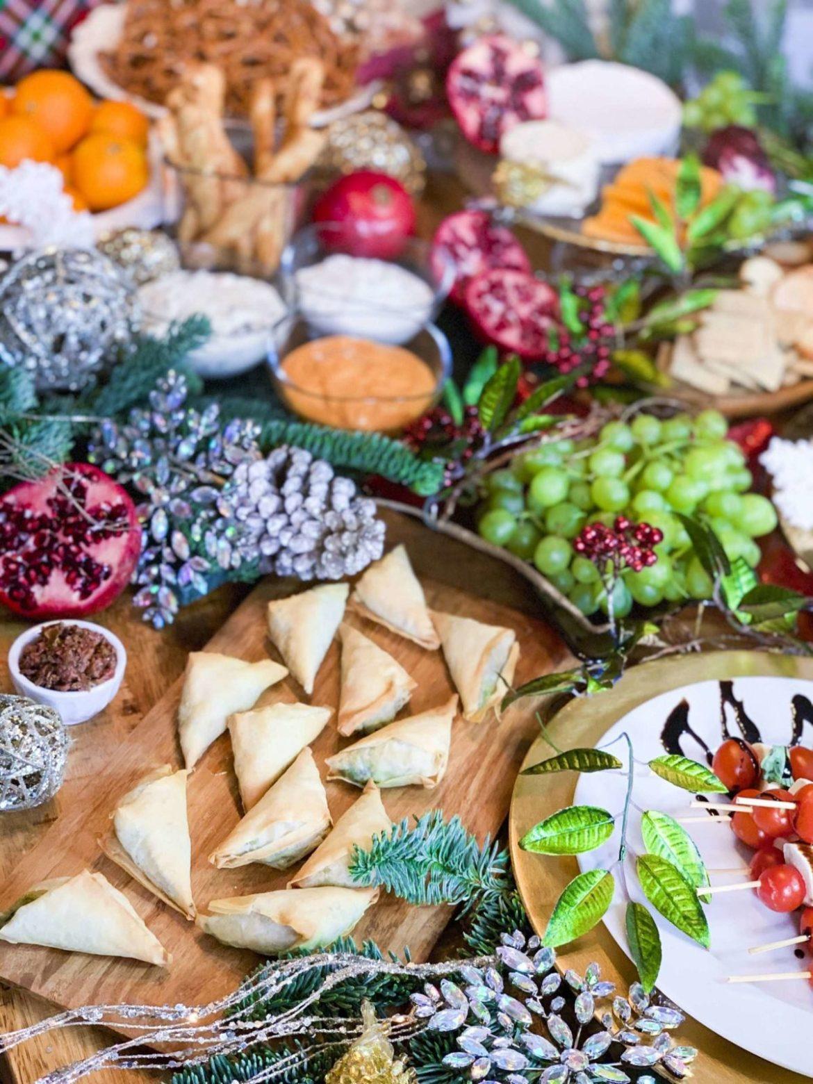 Christmas Grazing Table