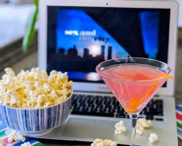 Cocktail, TV and Snack Pairings