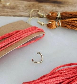 Why buy when you can DIY?: Tassel Earrings!