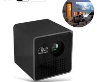 P1+ DLP LED Projector Mini WiFi Projector 1080P Support ...